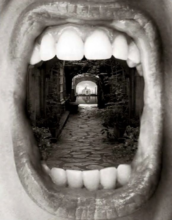 Nice Uvula Photomontage Photographie De Surrealisme Surrealisme