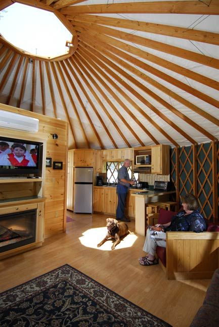 Pacific Yurts – Yurt Photo Gallery