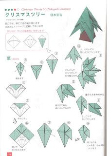 christmas origami diagram cobalt stereo wiring diagrams source bruno arvore de natal projects to try pinterest dollar bill