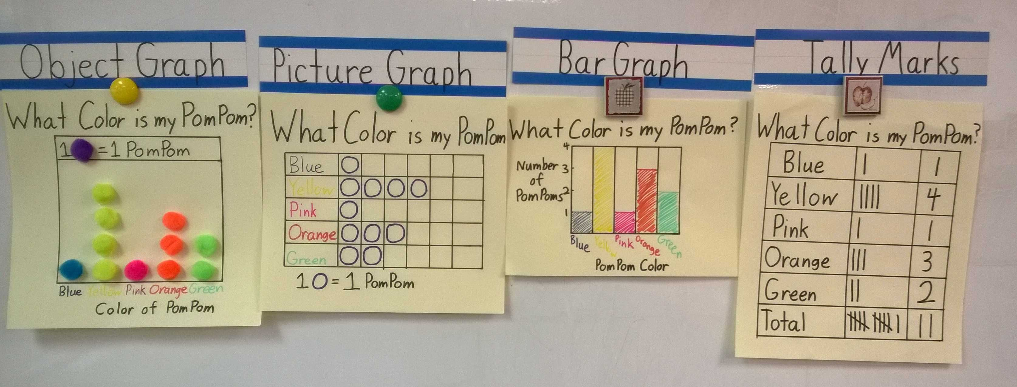1st Grade Graphing