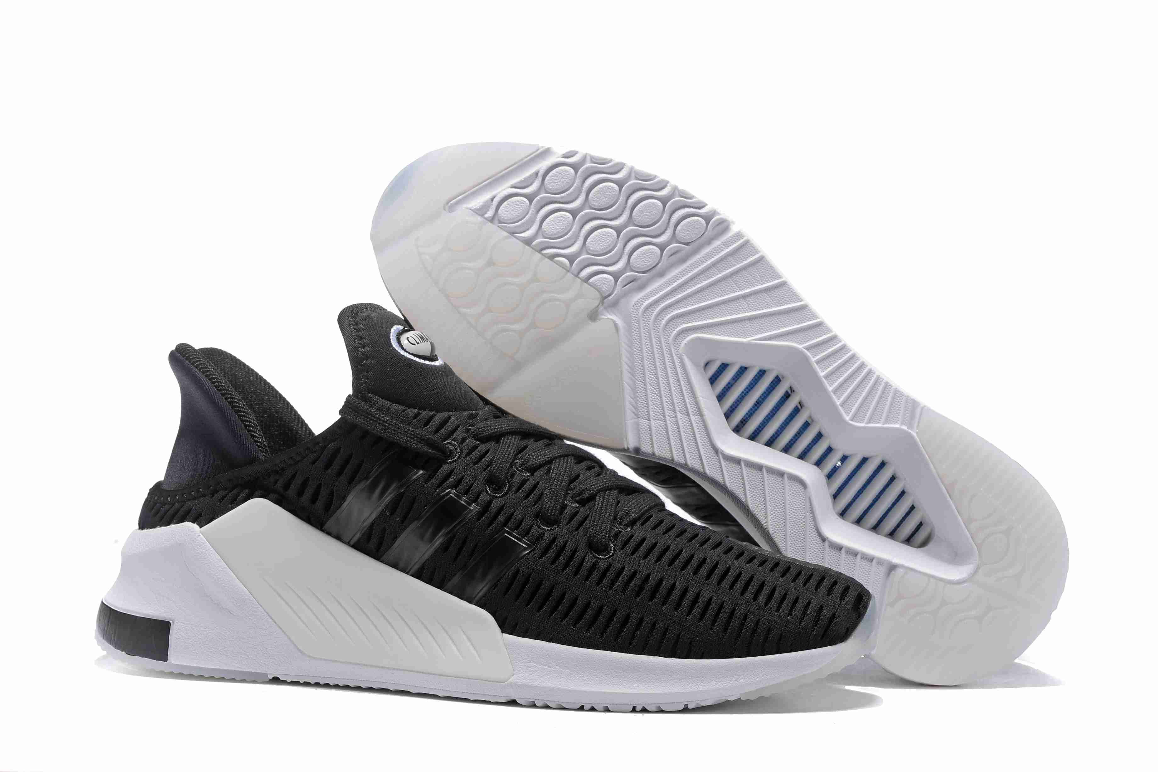 Couples Adidas Climacool ADV Breathable and Comfortable Running Shoes White  Black