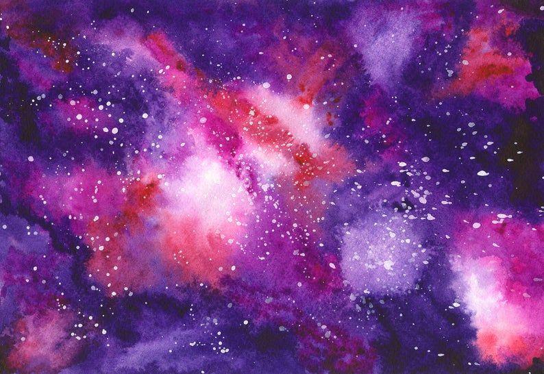Watercolor Space Clipart Illustrations Of Sosmonaut Spaceship Satellite Comet Moon Meteorite Space Probe Stars Space Backgrounds In 2021 Crayon Art Melted Space Watercolor Wax Crayon Art