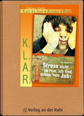 Stress Nicht So Rum Ich Find Schon Nen Job Leseschwache Schuler Unterrichtsmaterial Leseforderung