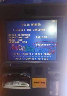 Pin di Cara Transfer Uang Lewat ATM Mandiri Ke Bank Lain ...
