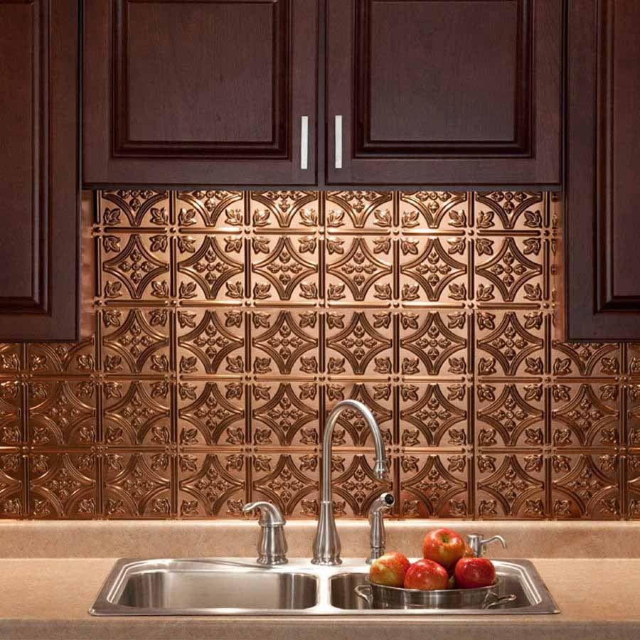 Fasade Backsplash In Traditional 1 Diy Decor Store Backsplash Panels Primitive Kitchen Rubbed Bronze Kitchen