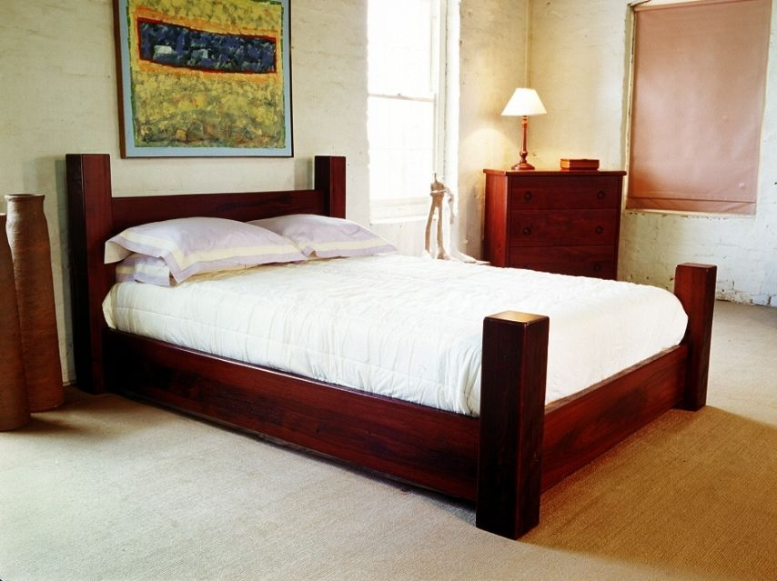 Beds With Posts 4 poster bed large (854×639) | gorgeous large beds | pinterest