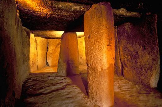 Cueva de Menga. Megalithic Tomb c. 2500 BC or c. 1800 BC.– Near Antequerra, Andalusia, Spain