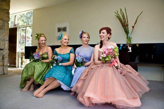 1950s Bridesmaid Dresses - Ocodea.com