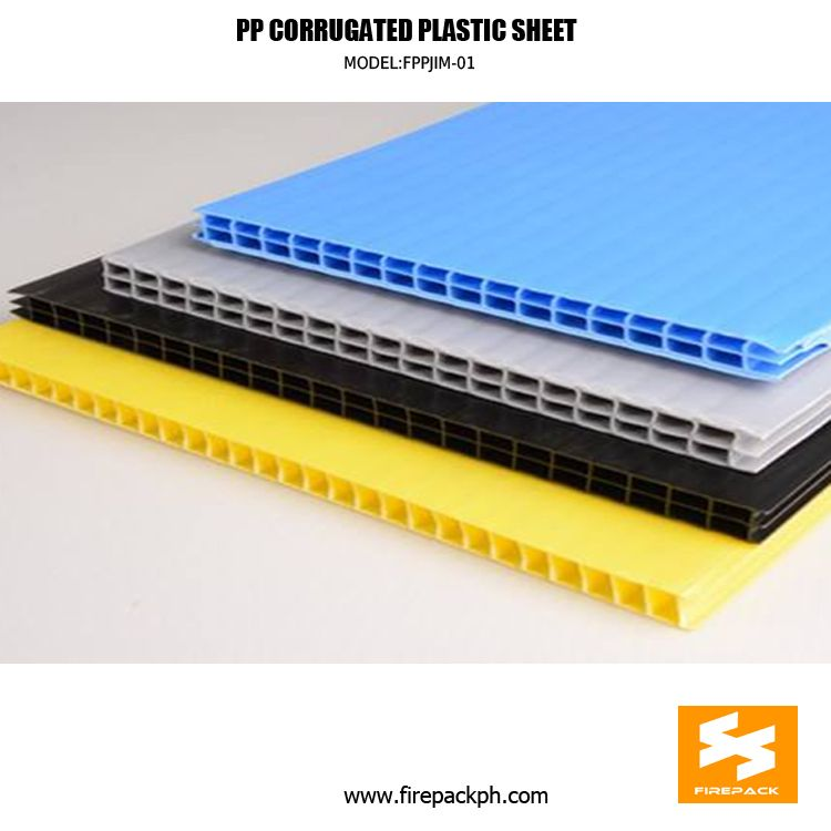 Pp Sheet Corrugated Plastic Supplier Https Firepackph Com Corrugated Plastic Corrugated Plastic Sheets Plastic Sheets