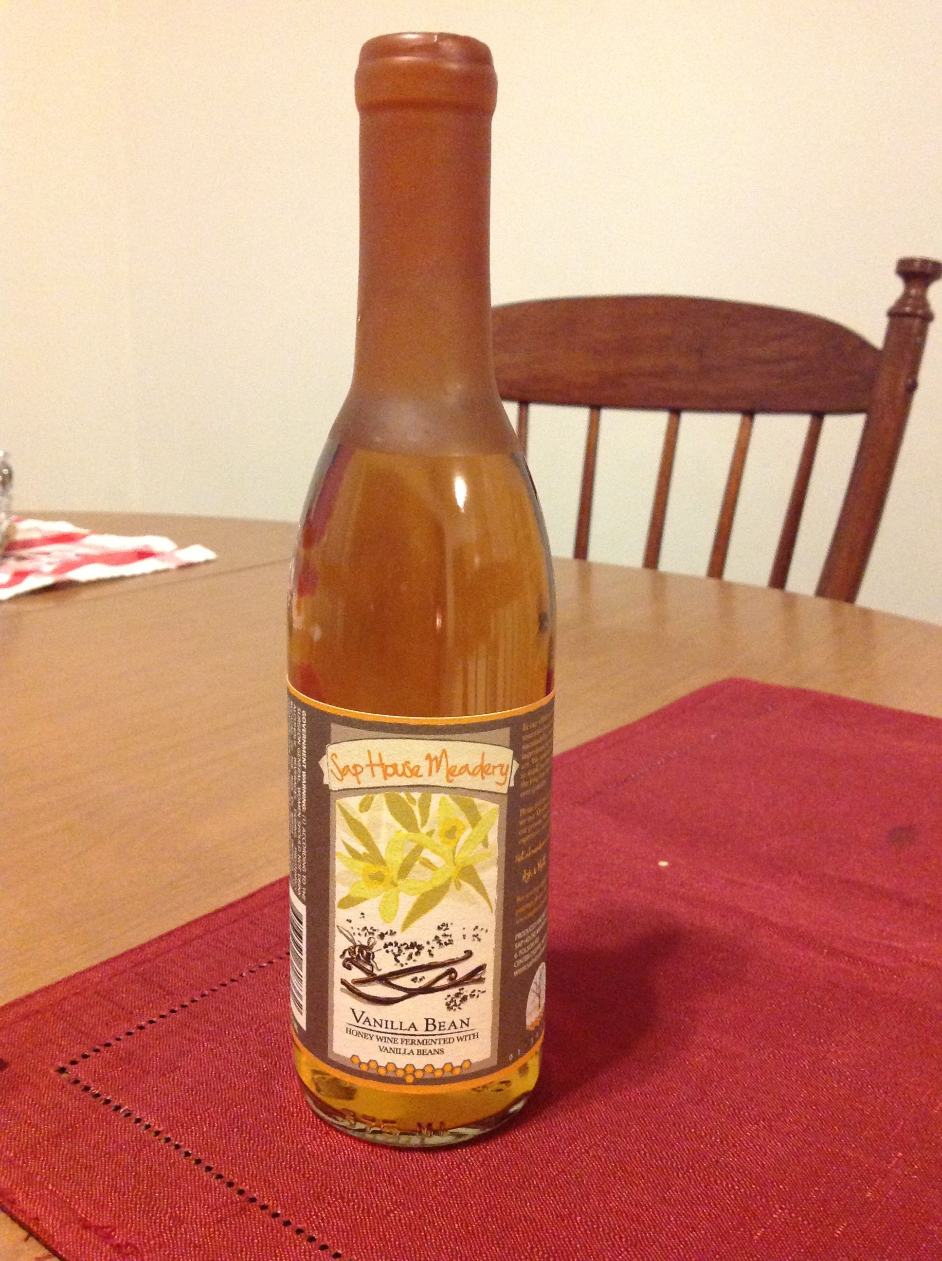 Sap House Meadery Center Ossipee Nh This Vanilla Bean Mead Is Delicious Gold Peak Tea Bottle Vanilla Bean Tea Bottle
