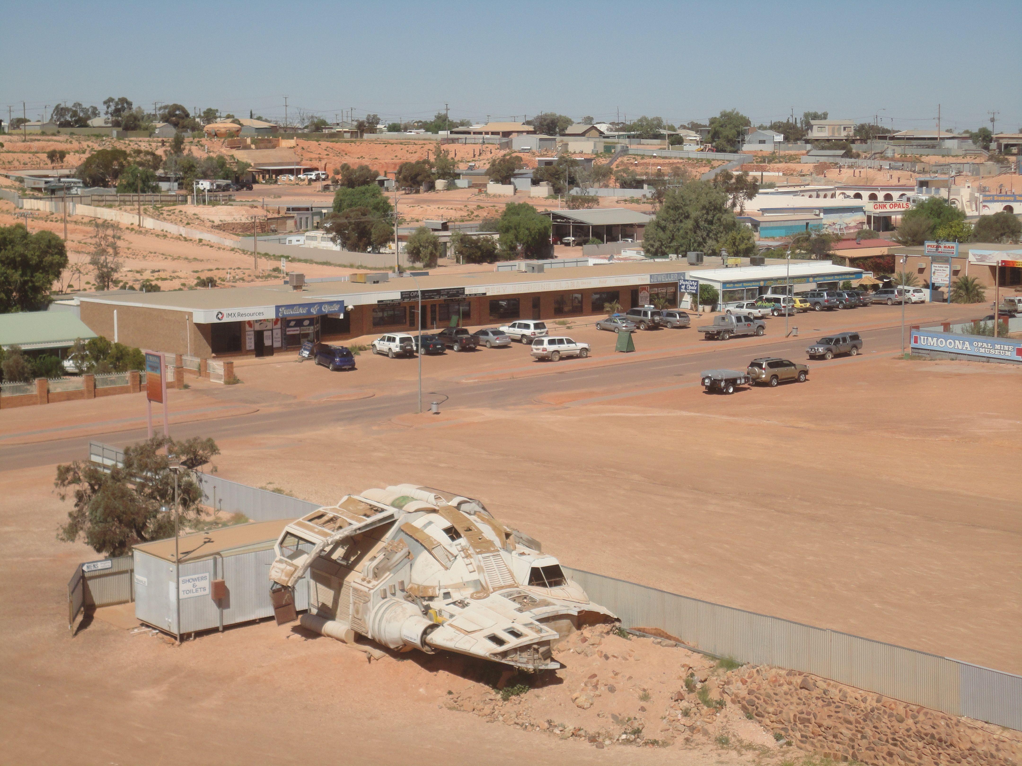 Coober Pedy es una ciudad situada al norte de Australia