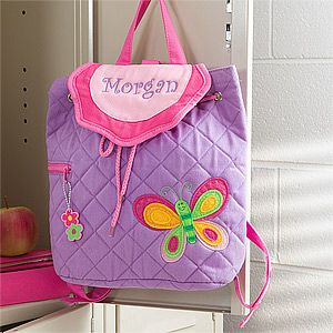 Butterfly Embroidered Backpack