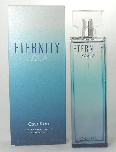 Calvin Klein Eternity Aqua Women Eau De Parfum Spray 34 Ounce