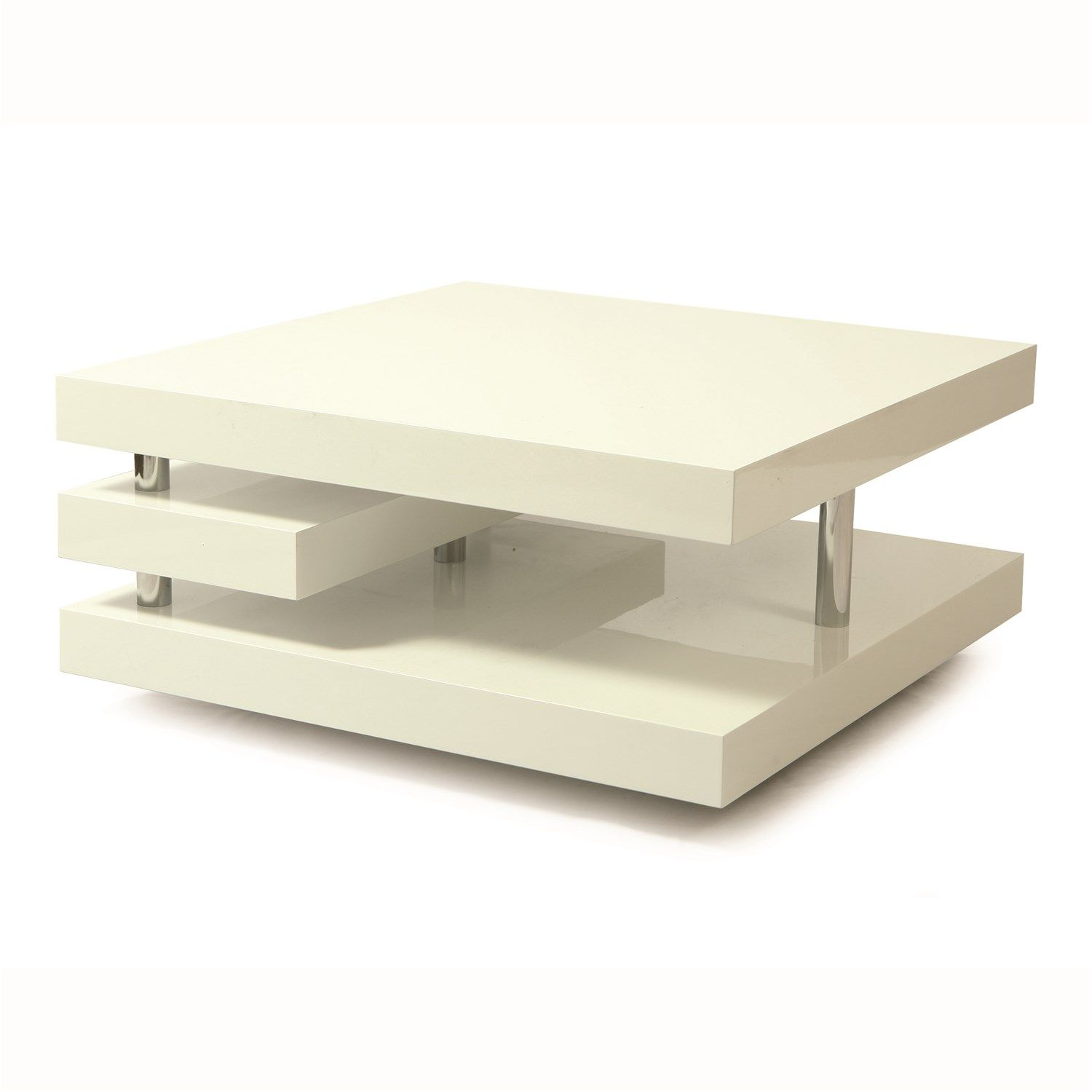 Couchtisch Pastell Pastel Furniture Vy 415 Ch Gw Viceroy Coffee Table In Chrome White