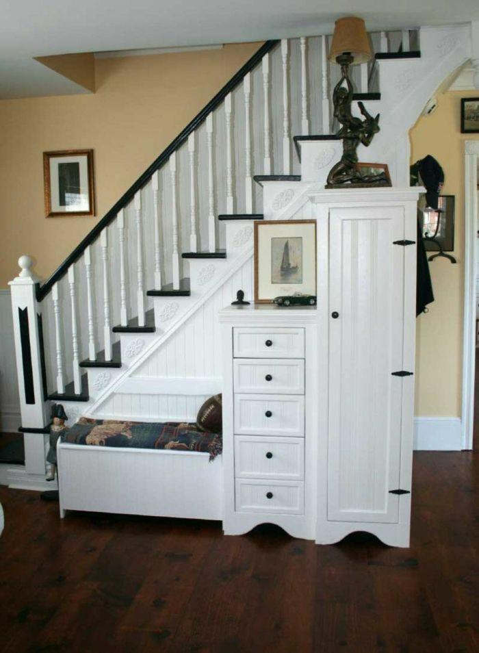 Schrank unter Treppe und andere Lösungen, wie Sie für mehr Stauraum ...