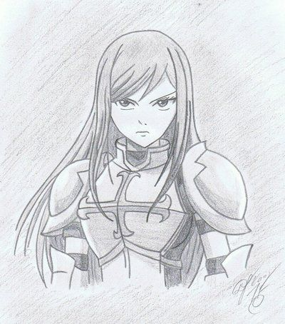 fairy tail erza drawing - Google Search | stuff to do ...