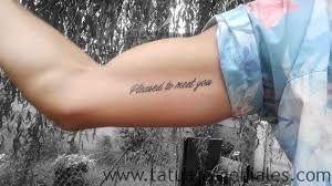 Ideas de frases de tatuajes para hombre Para ms ideas visita