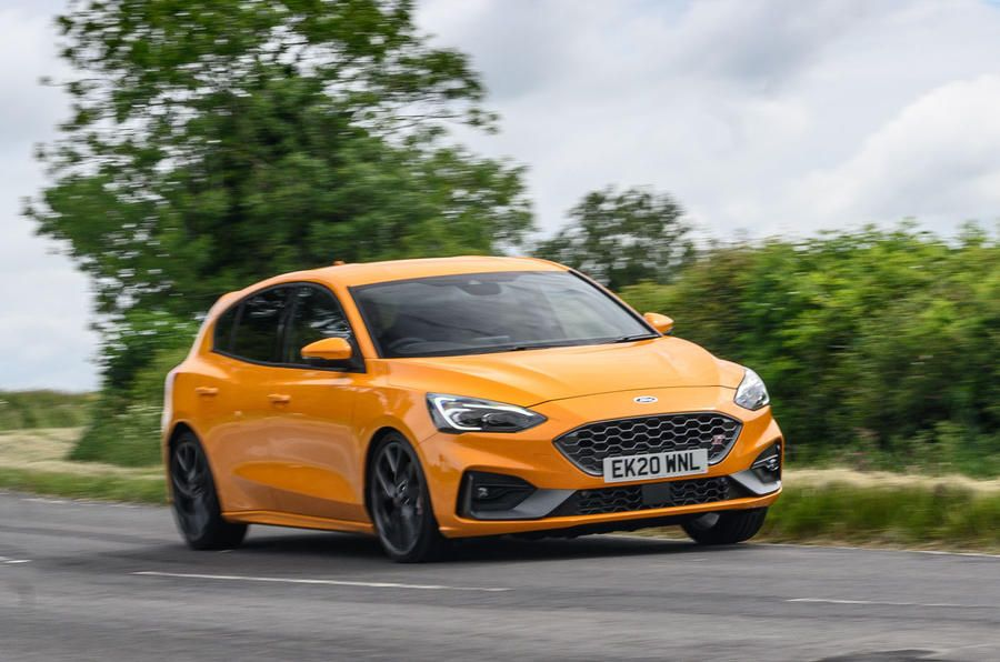 Ford Focus ST 2020 longterm review hero front in 2020