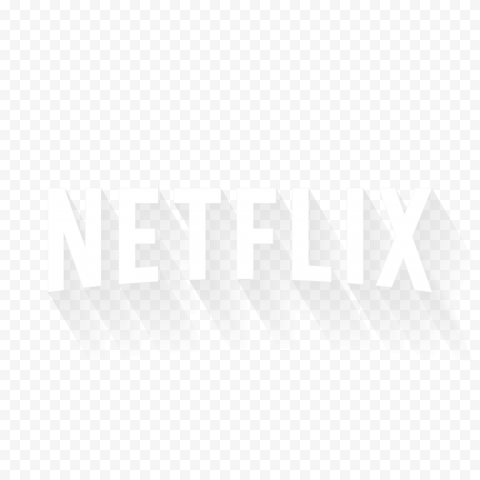 White Netflix Text Rectangle Logo Rectangle Text Logos