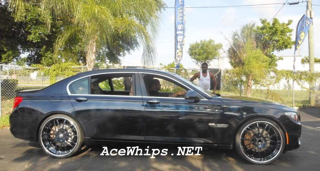 Bmw 750 On 24s 2012 7 Series Sittin Clean On 24 Forgiatos
