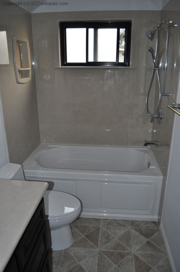cultured marble tub surround -- Idea for Taylor ...