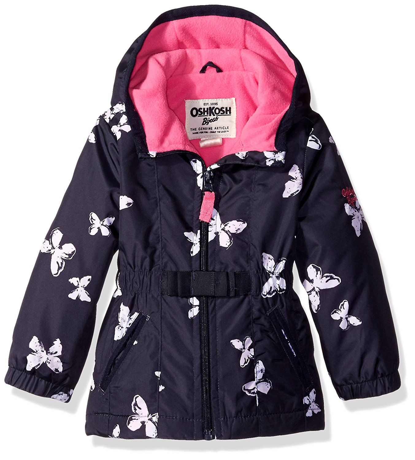d1f4a788d518 Osh Kosh Baby Girls  Infant Printed Midweight Transitional Jacket ...