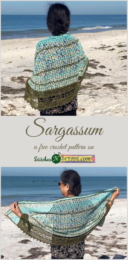 Sargassum - a free crochet pattern on StitchesNScraps.com | Haken ...