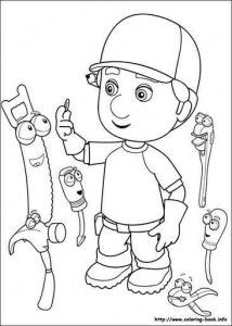 Handy Manny Online Coloring Page 25 Coloring Pages Disney