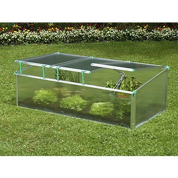 Exaco Premium Cold-Frame Mini-Greenhouse   outdoor   Pinterest ...