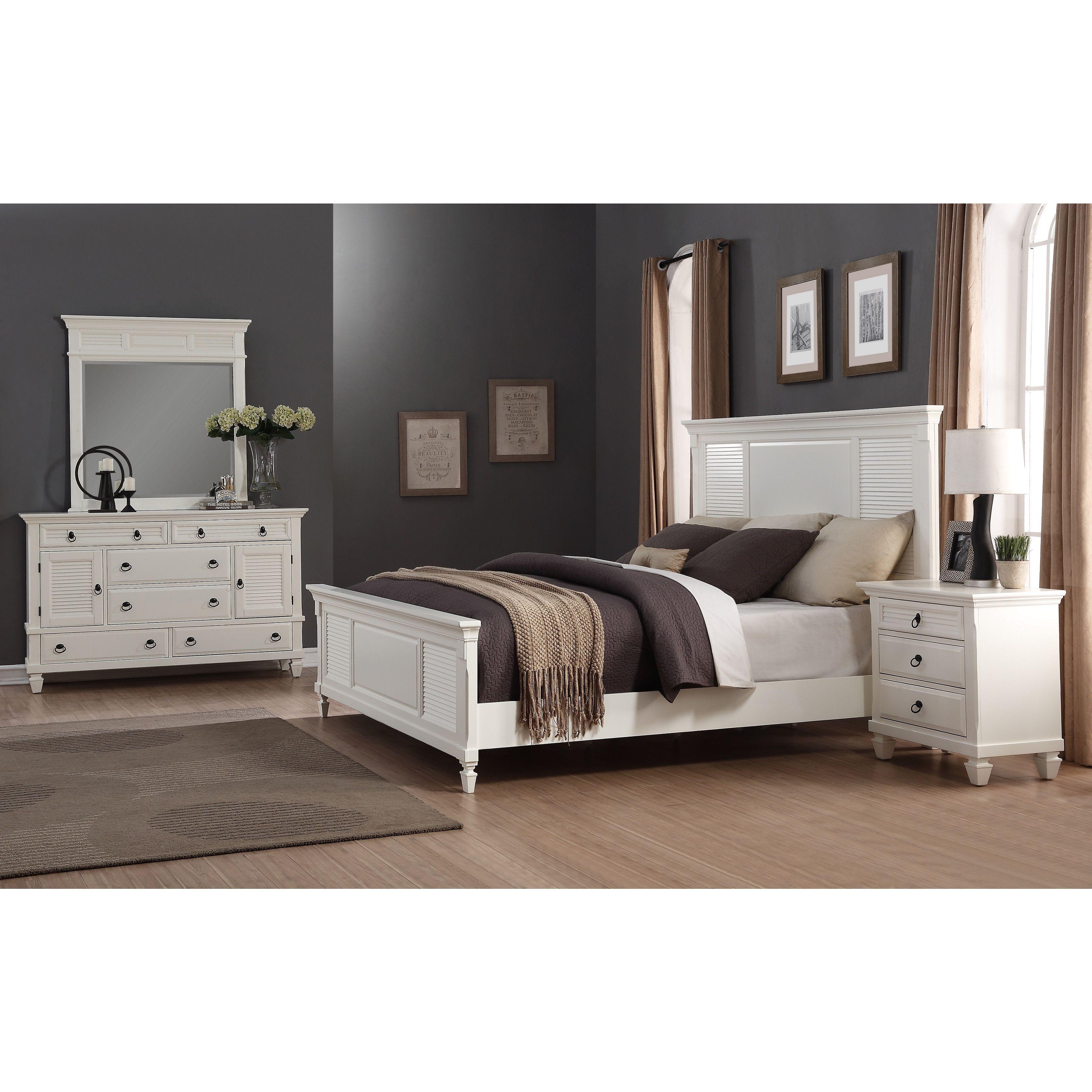 Regitina piece queensize bedroom furniture set decor
