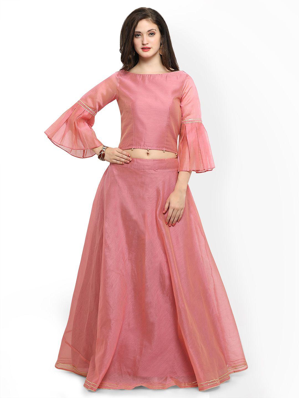 6c25b639e0378 Inddus Pink Semi Stitched Lehenga Choli - Lehenga Choli for Women  lehenga   lehengacholi  traditionalwear  indianwear  indianfashion  afflink  fashion  ...
