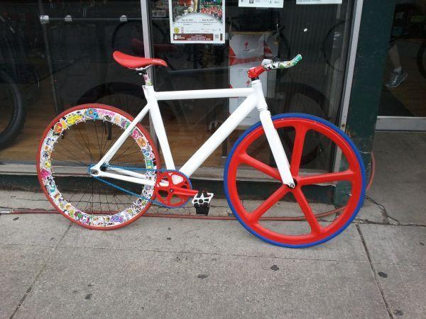 Sticker Bomb Bike Nerd Sticker Bomb Bicycle