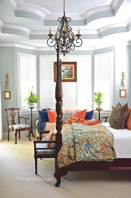 Master Bedroom - Fall - Housepitality Designs