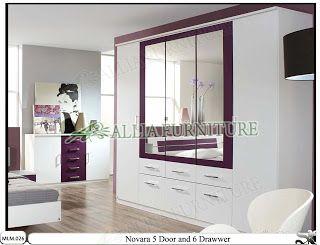 Model & tipe dari lemari pakaian minimalis | www.alliafurniture.com