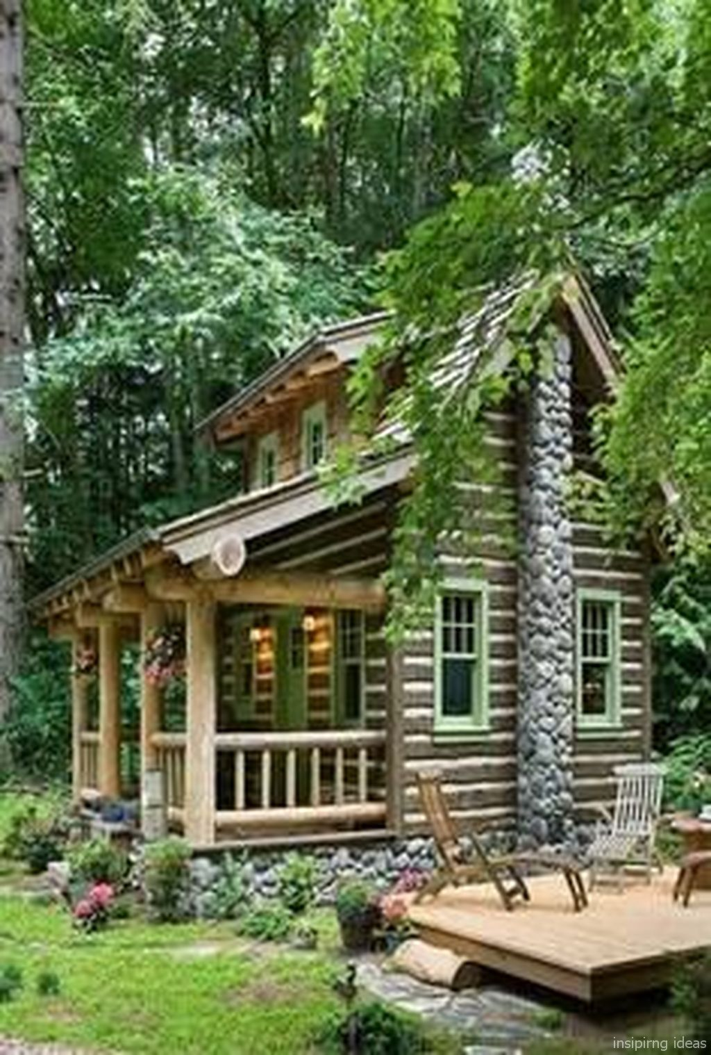 Room A Holic All Inspiring Ideas Are Here Small Log Cabin Log Cabin Homes Log Cabin Designs