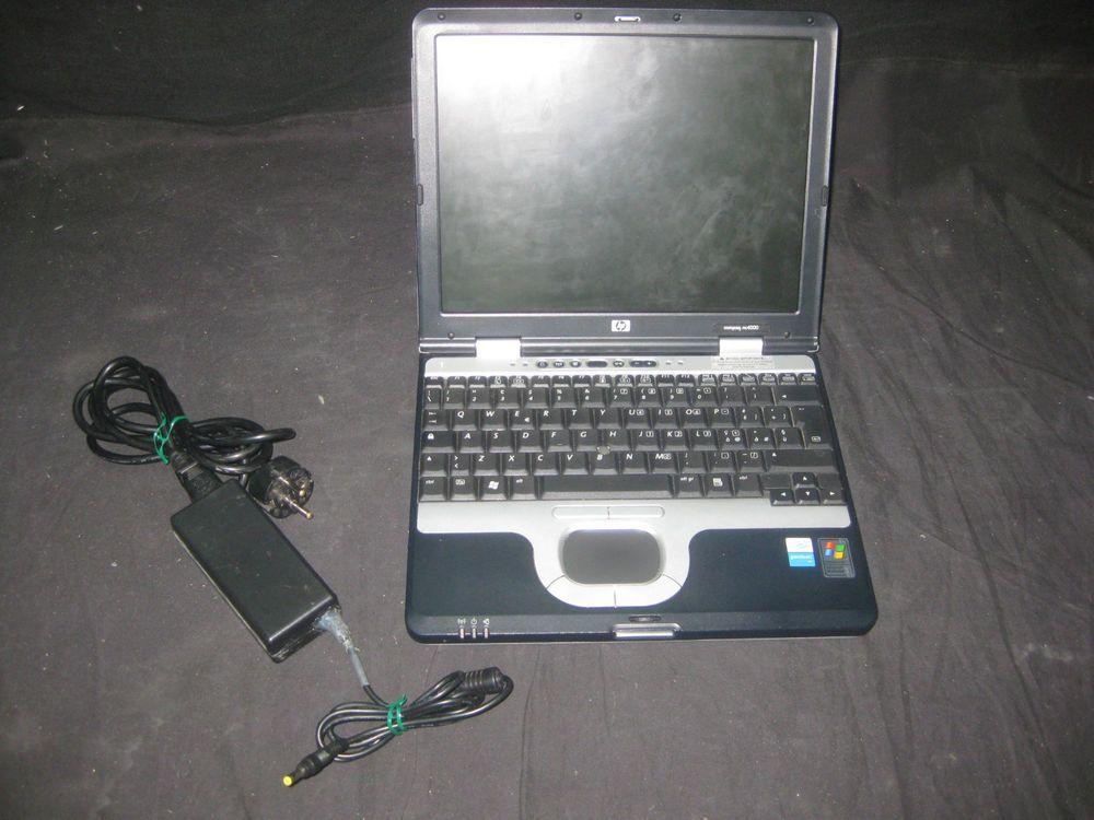 Ordenador Portatil Antiguo Compaq NC 400 Centurion Windows XP - Buen Estado