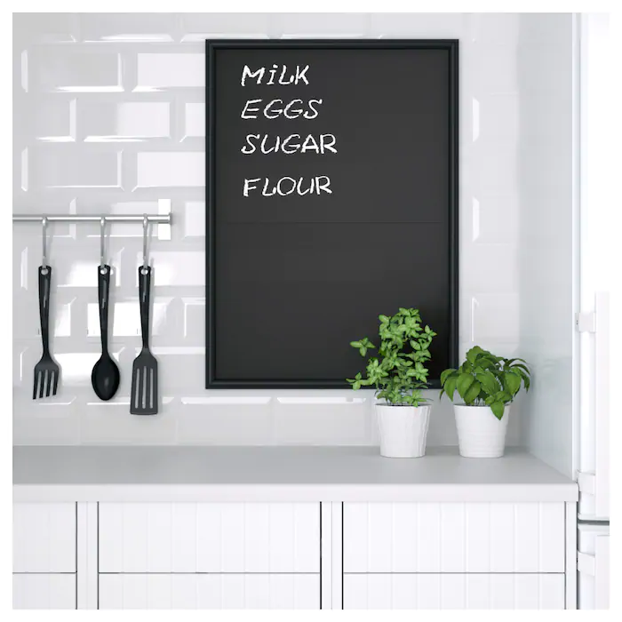 Klatta Decorations Adhesives Tableau Noir Ikea En 2020 Tableau Noir Mural Tableau Noir Tableau Noir Craie
