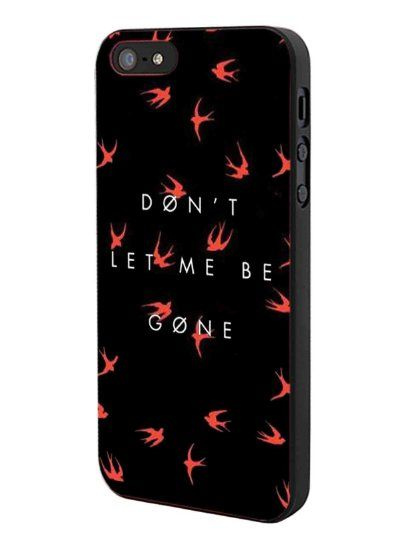 Twenty One Pilots Dont Let Me Be Gone iPhone 5 Case Hardplastic Frame Black Fit For iPhone 5 and iPhone 5s