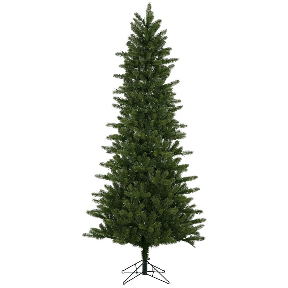 Green Spruce Artificial Christmas Tree With Warm White Lights Slim Artificial Christmas Trees Pre Lit Christmas Tree Slim Christmas Tree