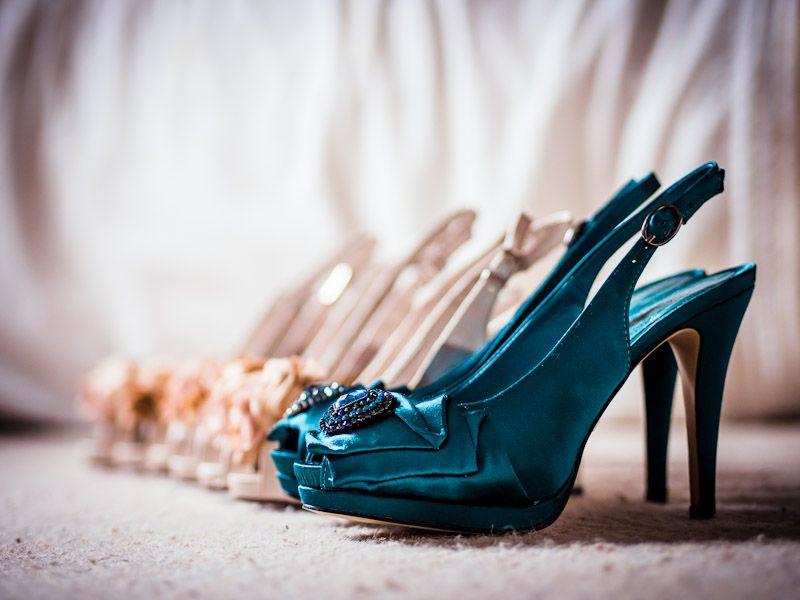 Love my green heels