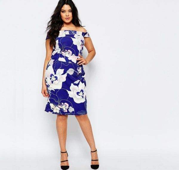 13 Cute Plus Size Summer Dresses Which You Will Love: Cute casual ...
