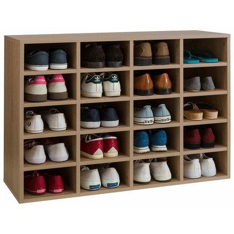 Meuble Etagere Range Chaussures 20 Compartiments Lady Rangement Chaussures Meuble Chaussure Meuble Etagere