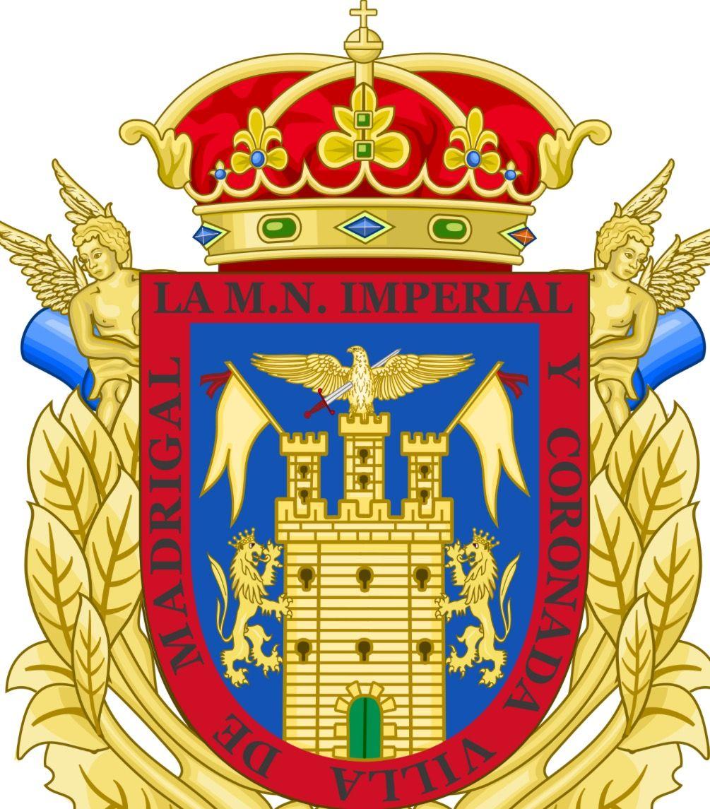 Madrigal De Las Altas Torres ávila Escudo Heraldica Española Insignias