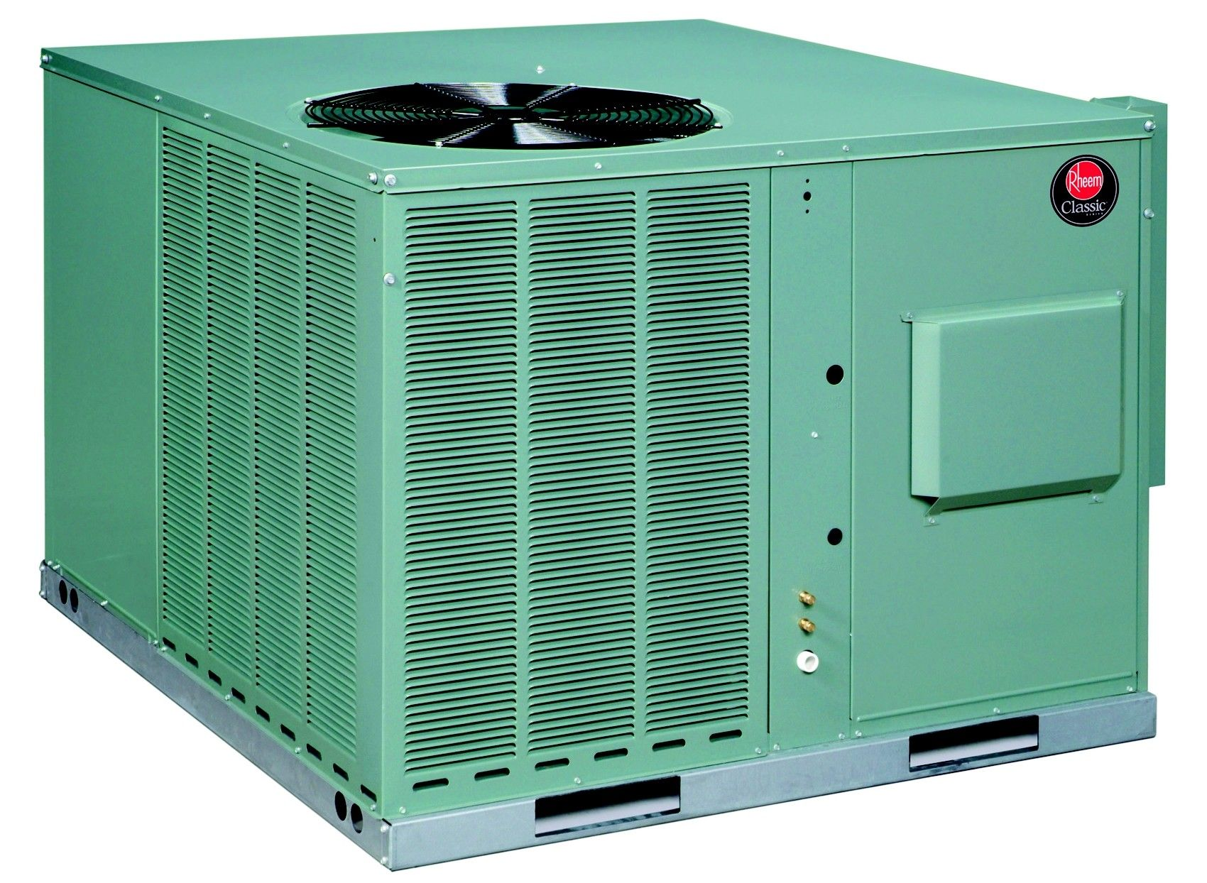 3 Ton Rheem 14 Seer R 410a 80 Afue 80 000 Btu Dual Fuel Package Unit Cooling Unit Central Air Units Duct Work