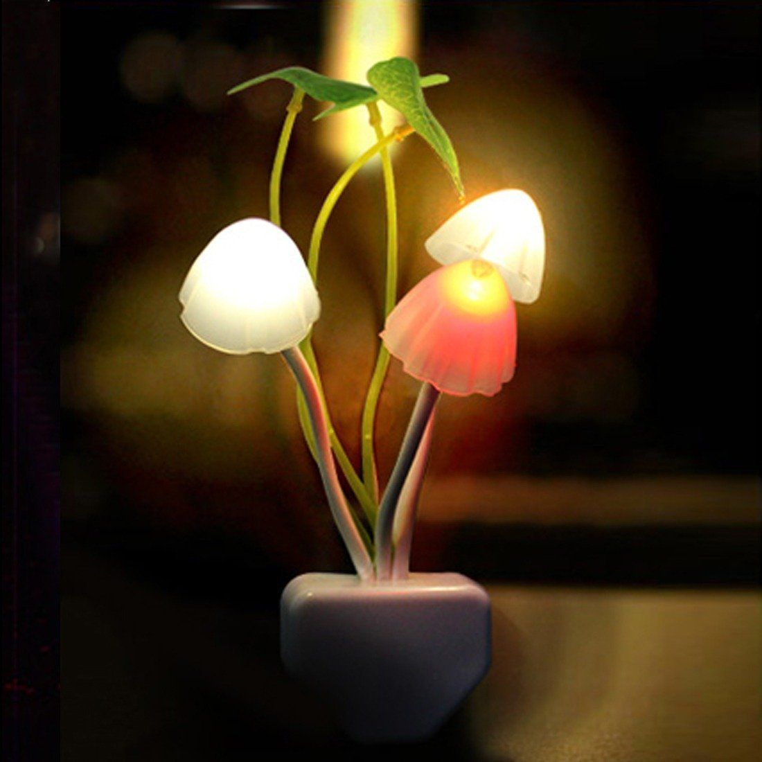 Lucky Mushroom Night Light #inspireuplift explore Pinterest