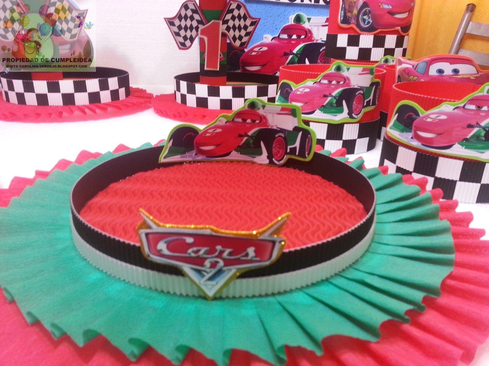 decoracion cumpleaos cars buscar con google