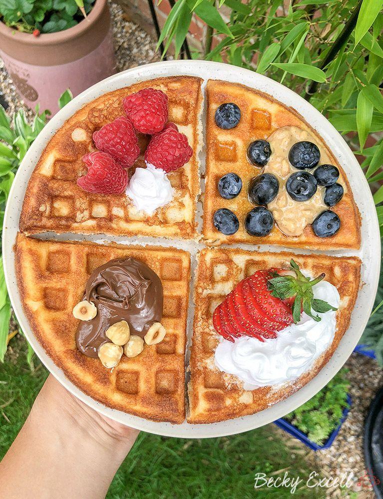 My 4 Ingredient Gluten Free Waffle Recipe (dairy free, low