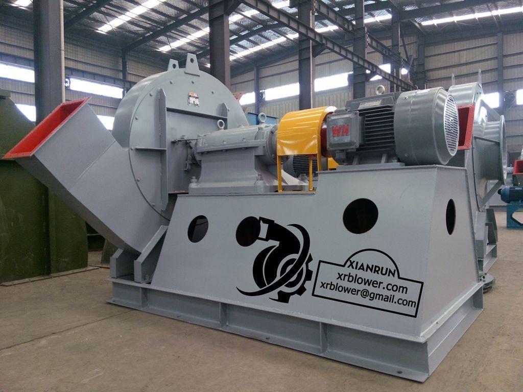 High Static Pressure Blowers : High pressure coupling drive centrifugal fan in