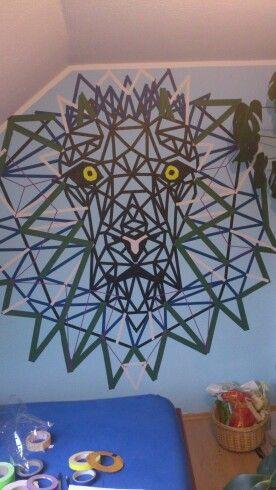 Klebeband Löwe