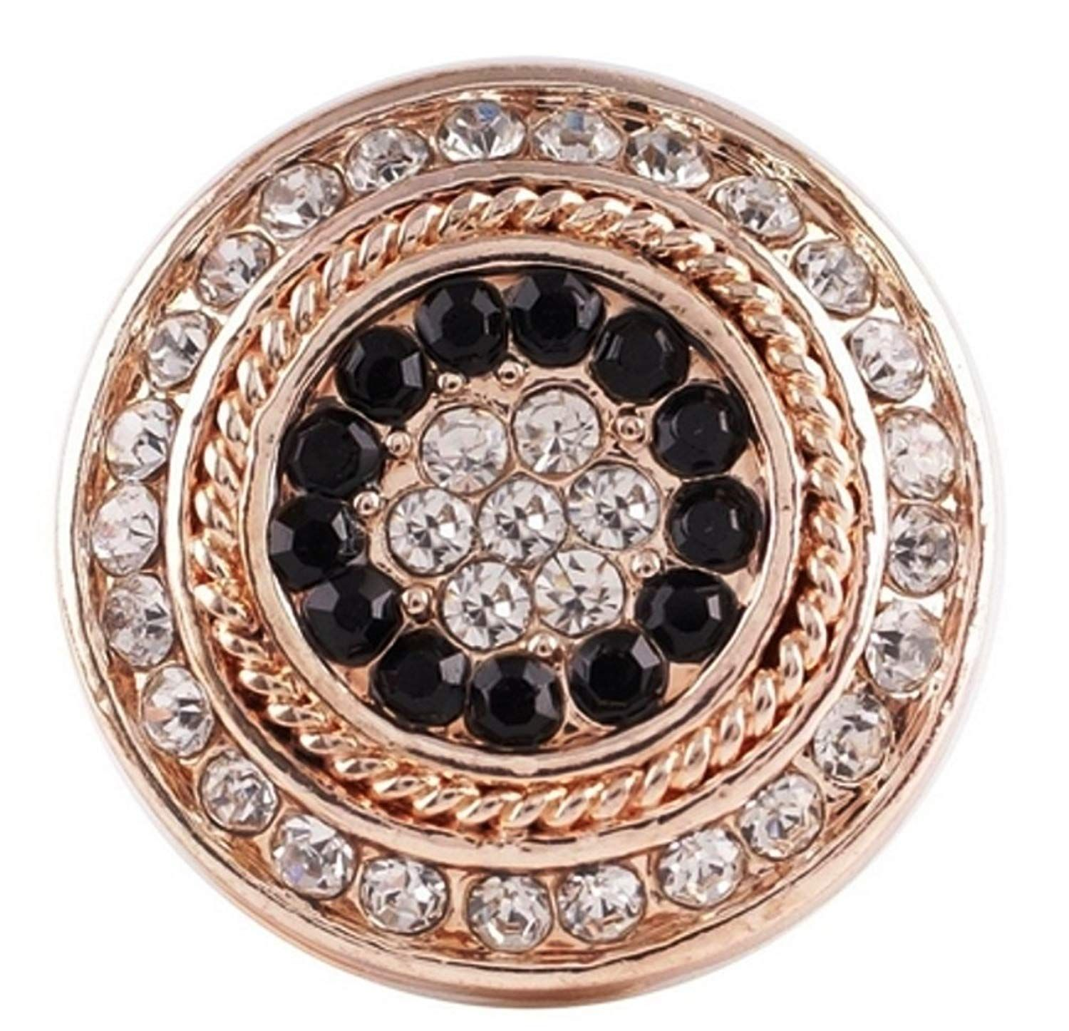 Fits Ginger Snap Crystal Rhinestone Ginger Snaps Magnolia Vine 18mm Jewelry